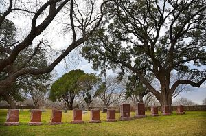 More than half of the 50 or so folks buried here are Christadelphians. They include: my great-great grandmother, Priscilla Bunton, the first Christadelphian in the family; my great grandparents, Sam Ealy Johnson and Eliza Bunton Johnson; my grandmother, Jessie Johnson Hatcher; my parents, Eldon Booker and Ruth Hatcher Booker; my brother and only sibling, Wesley Booker; as well as a number of great-aunts, some cousins, and a few close friends of the family (who were not related by blood but simply by faith). The cemetery is administered by the United States National Parks Service.