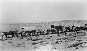 Journey to the West by Wagon Trains